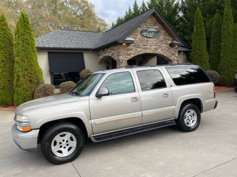 2004 Chevrolet Suburban for sale at Hoyle Auto Sales in Taylorsville NC