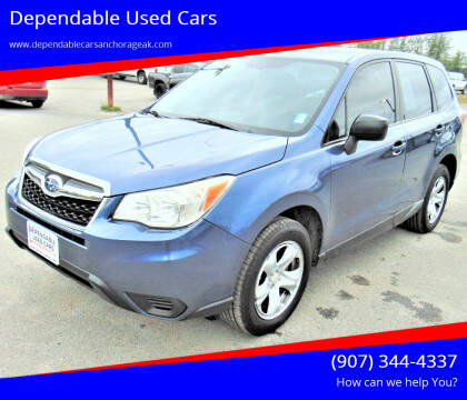 2014 Subaru Forester for sale at Dependable Used Cars in Anchorage AK