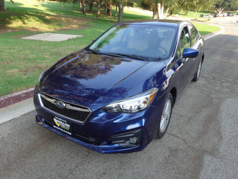 2018 Subaru Impreza for sale at N c Auto Sales in Los Angeles CA
