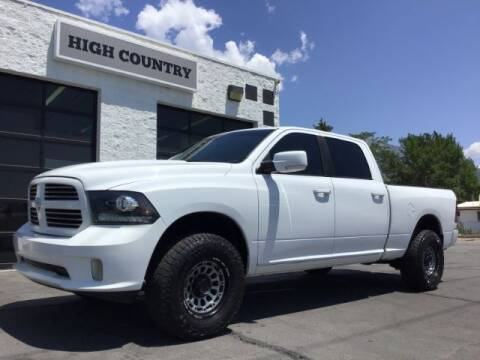 2013 RAM Ram Pickup 1500 for sale at High Country Motor Co in Lindon UT