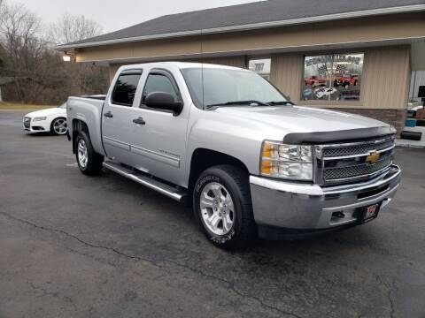 2012 Chevrolet Silverado 1500 for sale at RPM Auto Sales in Mogadore OH