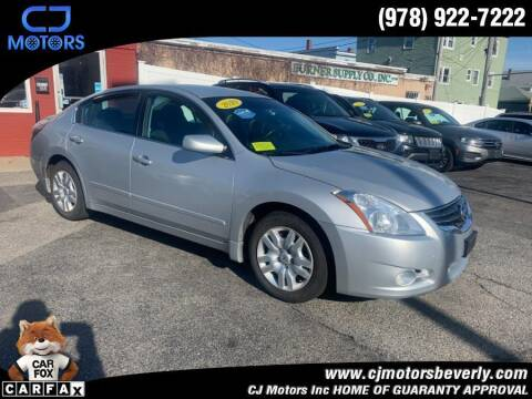2010 Nissan Altima for sale at CJ Motors Inc. in Beverly MA