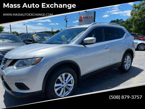 2015 Nissan Rogue for sale at Mass Auto Exchange in Framingham MA