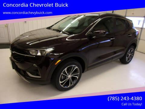 2021 Buick Encore GX for sale at Concordia Chevrolet Buick in Concordia KS