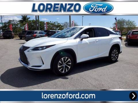2021 Lexus RX 350 for sale at Lorenzo Ford in Homestead FL