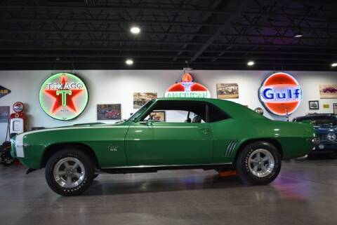 1969 Chevrolet Camaro SS396 RPO-L78 for sale at Choice Auto & Truck Sales in Payson AZ