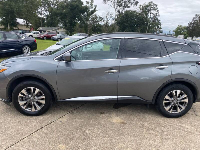 2018 Nissan Murano for sale at A & B Auto Sales of Chipley in Chipley FL