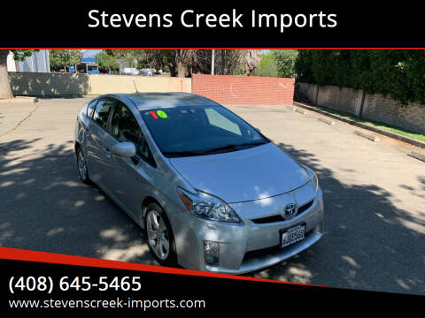 2010 Toyota Prius for sale at Stevens Creek Imports in San Jose CA