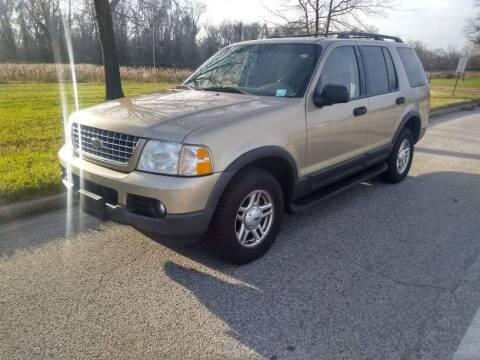2003 Ford Explorer for sale at Laurel Wholesale Motors in Laurel MD