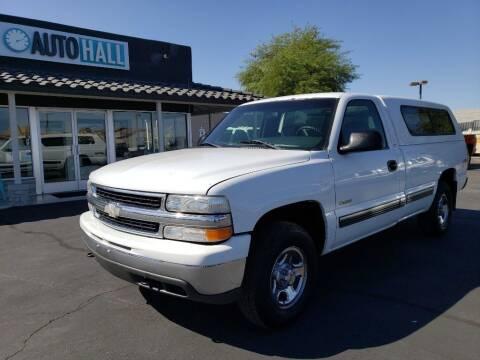 2000 Chevrolet Silverado 1500 for sale at Auto Hall in Chandler AZ