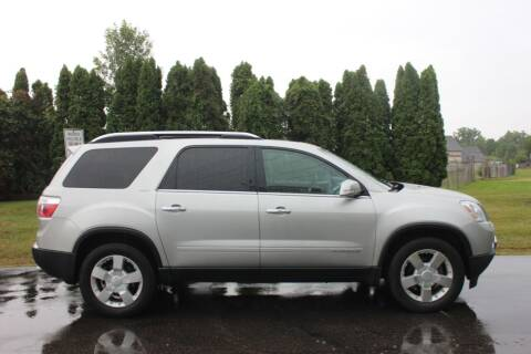 2008 GMC Acadia for sale at D & B Auto Sales LLC in Washington Township MI