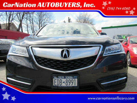 2014 Acura MDX for sale at CarNation AUTOBUYERS, Inc. in Rockville Centre NY