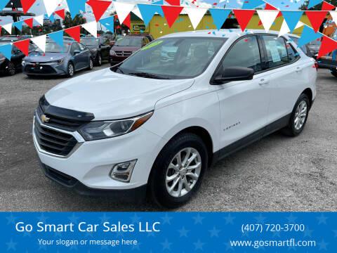 2018 Chevrolet Equinox for sale at Go Smart Car Sales LLC in Winter Garden FL