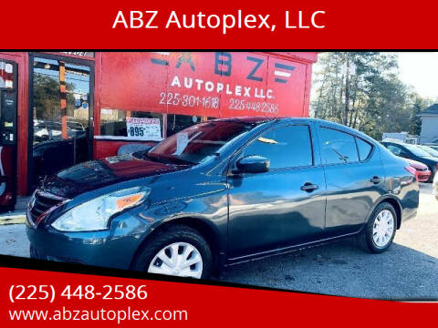 2016 Nissan Versa for sale at ABZ Autoplex, LLC in Baton Rouge LA