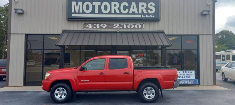 2006 Toyota Tacoma for sale at MotorCars LLC in Wellford SC