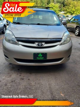 2006 Toyota Sienna for sale at Shamrock Auto Brokers, LLC in Belmont NH