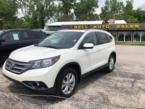 2013 Honda CR-V for sale at BELL AUTO & TRUCK SALES in Fort Wayne IN
