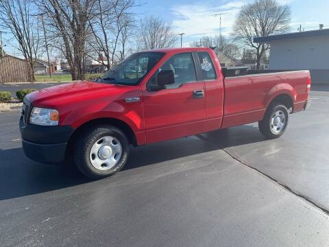 2006 Ford F-150 for sale at Clarks Auto Sales in Connersville IN
