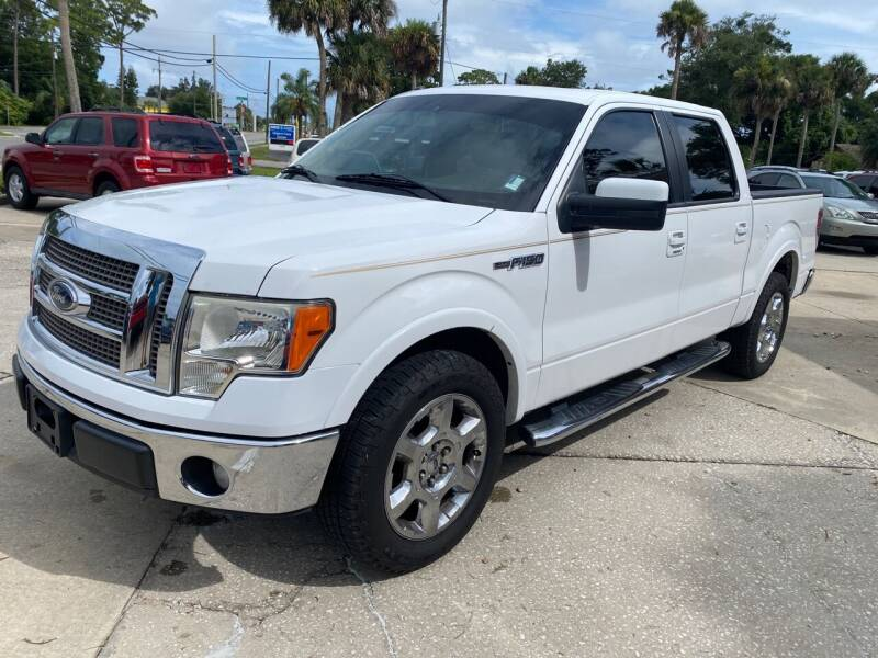 2012 Ford F-150 for sale at MITCHELL AUTO ACQUISITION INC. in Edgewater FL