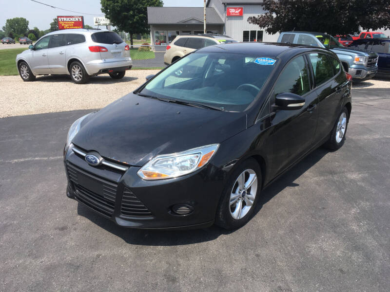 2013 Ford Focus for sale at JACK'S AUTO SALES in Traverse City MI