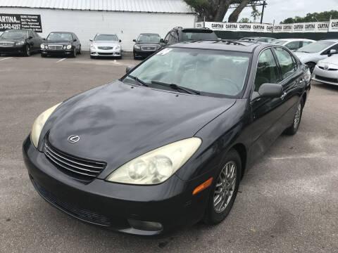 2004 Lexus ES 330 for sale at Cartina in Tampa FL