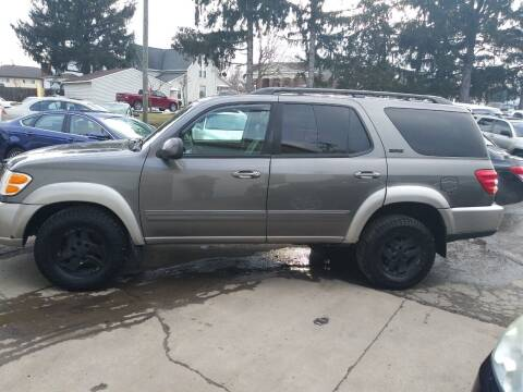 2003 Toyota Sequoia for sale at Jim's Hometown Auto Sales LLC in Byesville OH
