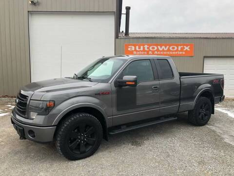 2013 Ford F-150 for sale at AutoWorx Sales in Columbia City IN