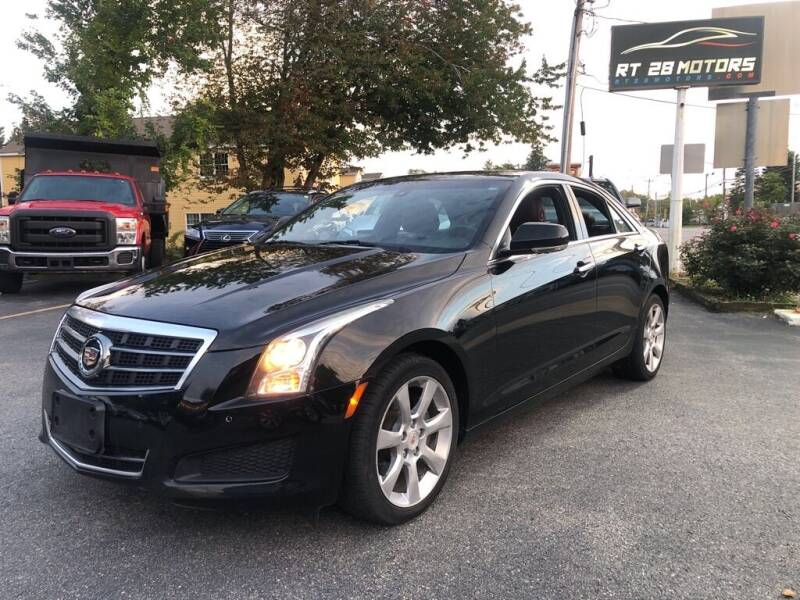 2014 Cadillac ATS for sale at RT28 Motors in North Reading MA