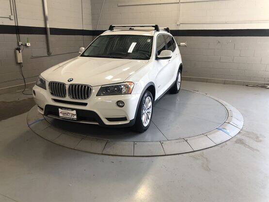 2014 BMW X3 for sale at Luxury Car Outlet in West Chicago IL