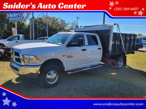 2017 RAM Ram Chassis 3500 for sale at Snider's Auto Center in Titusville FL