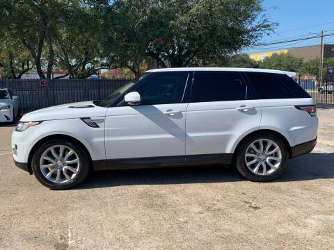 2016 Land Rover Range Rover Sport for sale at ABS Motorsports in Houston TX