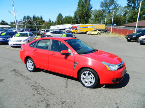 2008 Ford Focus for sale at J & R Motorsports in Lynnwood WA