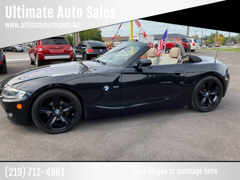 2005 BMW Z4 for sale at Ultimate Auto Sales in Crown Point IN