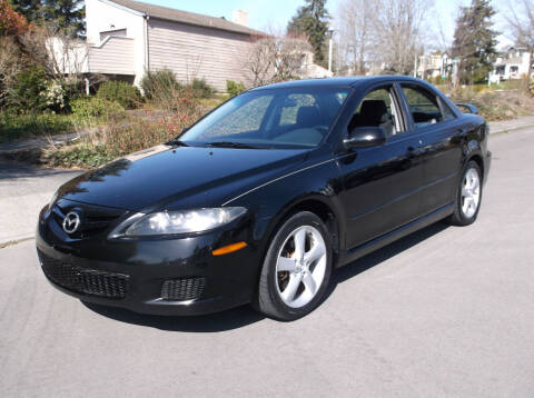2007 Mazda MAZDA6 for sale at Eastside Motor Company in Kirkland WA