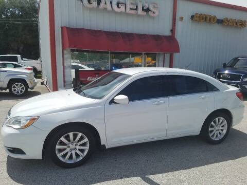 2014 Chrysler 200 for sale at Gagel's Auto Sales in Gibsonton FL