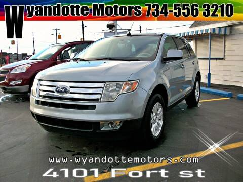 2007 Ford Edge for sale at Wyandotte Motors in Wyandotte MI