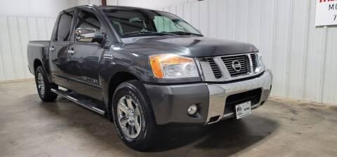 2012 Nissan Titan for sale at Matt Jones Motorsports in Cartersville GA