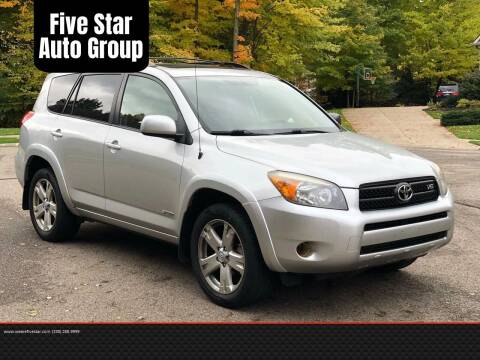2006 Toyota RAV4 for sale at Five Star Auto Group in North Canton OH