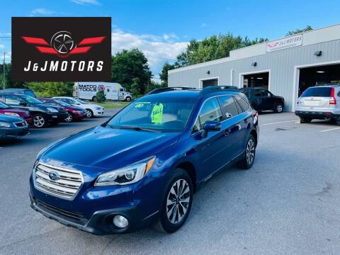 2015 Subaru Outback for sale at J & J MOTORS in New Milford CT