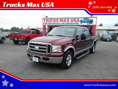 2005 Ford F-250 Super Duty for sale at Trucks Max USA in Manteca CA