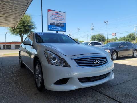 2013 Infiniti G37 Sedan for sale at Magic Auto Sales - Cash Cars in Dallas TX