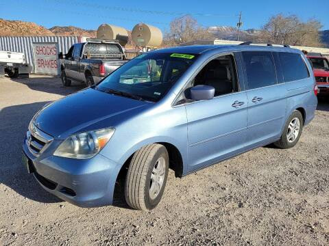 2007 Honda Odyssey for sale at Canyon View Auto Sales in Cedar City UT
