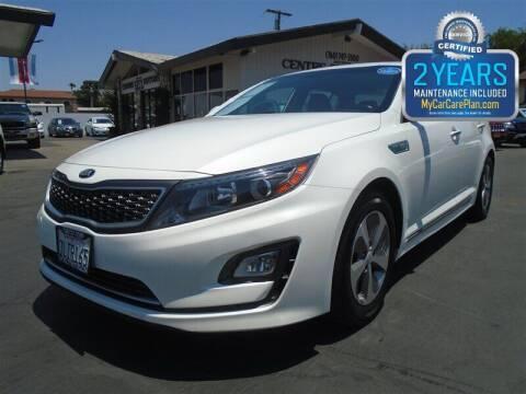 2015 Kia Optima Hybrid for sale at Centre City Motors in Escondido CA