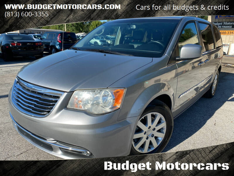2014 Chrysler Town and Country for sale at Budget Motorcars in Tampa FL
