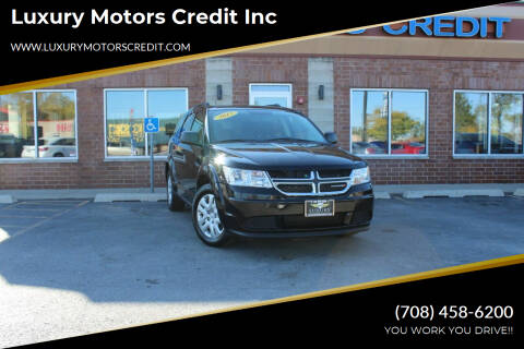 2017 Dodge Journey for sale at Luxury Motors Credit Inc in Bridgeview IL