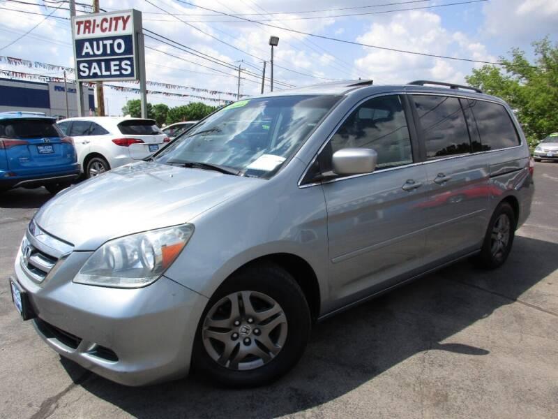 2005 Honda Odyssey for sale at TRI CITY AUTO SALES LLC in Menasha WI