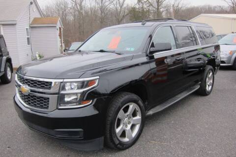 2015 Chevrolet Suburban for sale at K & R Auto Sales,Inc in Quakertown PA