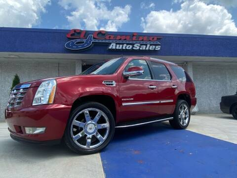 2013 Cadillac Escalade for sale at El Camino Auto Sales Gainesville in Gainesville GA