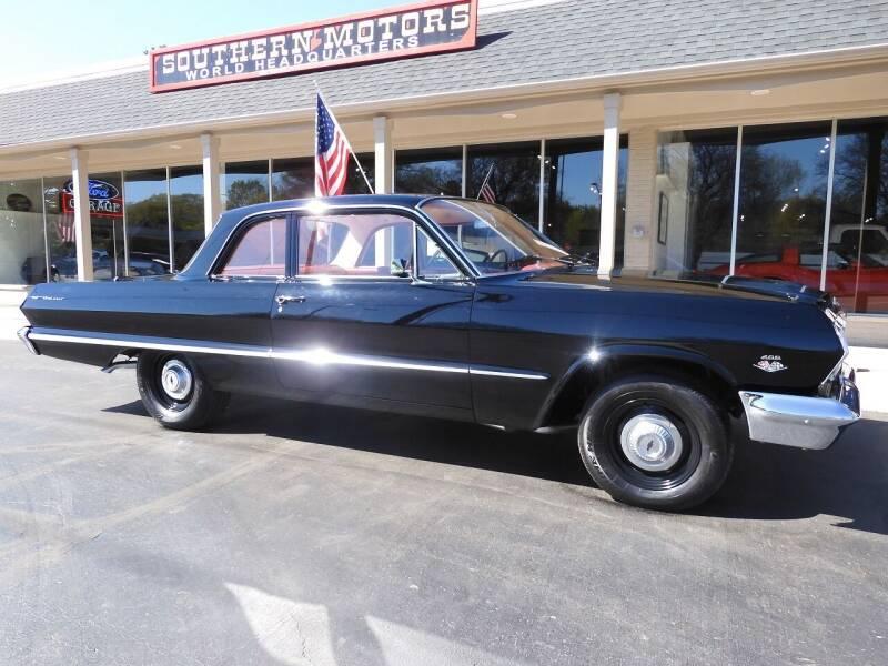 1963 Chevrolet Bel Air for sale in Clartston, MI