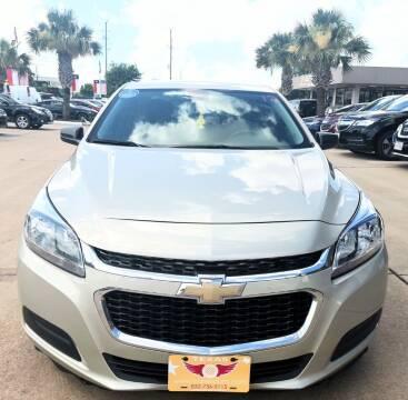 2014 Chevrolet Malibu for sale at Car Ex Auto Sales in Houston TX